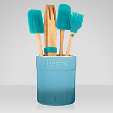Buy Denby Azure Utensil Set, 5 Piece Online at johnlewis.com