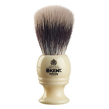 Buy Kent Silvertex Synthetic Shaving Brush Online at johnlewis.com