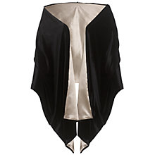 Buy Ariella Kara Velvet Stole, Black Online at johnlewis.com