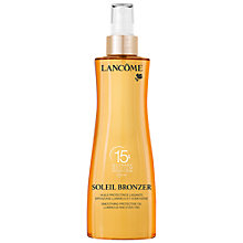 Buy Lancôme Soleil Oil SPF 15, 200ml Online at johnlewis.com