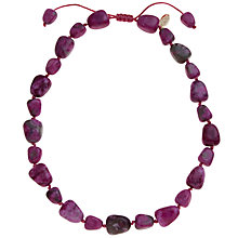 Buy Lola Rose Eva Semi Precious Stone Necklace Online at johnlewis.com