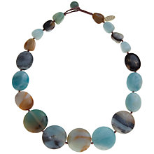 Buy Lola Rose Helene Flower Agate Necklace Online at johnlewis.com