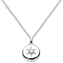 Buy Kit Heath Swarovski Pearl Sterling Silver Locket Online at johnlewis.com