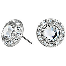 Buy Alan Hannah Silver Plated Faux Pearl Stud Earrings Online at johnlewis.com