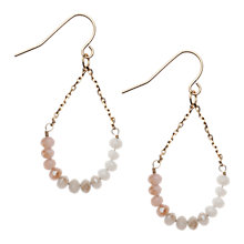 Buy Orelia Ombre Swing Earrings, Opal Online at johnlewis.com