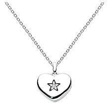 Buy Kit Heath Sterling Silver Star Sparkle Locket Online at johnlewis.com