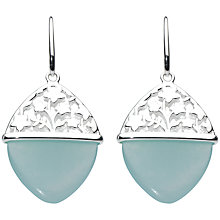 Buy Kit Heath Aster Sterling Silver Jade Drop Earrings, Blue Online at johnlewis.com