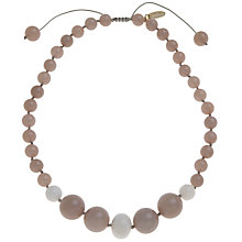 Buy Lola Rose Tanner Sea Foam Quartzite And Sea Shell Necklace Online at johnlewis.com
