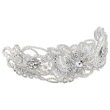 Buy Alan Hannah Vintage Pearl and Crystal Hair Slide, Silver Online at johnlewis.com