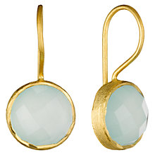 Buy Pomegranate 18ct Gold Vermeil Cupcake Drop Earrings Online at johnlewis.com