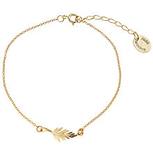 Buy Alex Monroe Little Leaf Bracelet Online at johnlewis.com