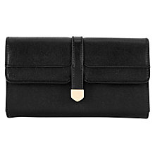 Buy Warehouse Cross Hatch Vintage Purse, Black Online at johnlewis.com