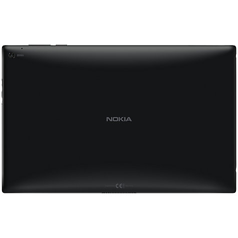 "Buy Nokia Lumia 2520 Tablet, Qualcomm Snapdragon, Windows RT 8.1, 10.1"", 32GB, Wi-Fi & 4G LTE, Black Online at johnlewis.com"