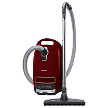 Buy Miele S8 Parquet Cylinder Vacuum Cleaner, Red Online at johnlewis.com