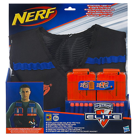 Buy Nerf Exclusive Vest and Rough Cut Blaster Pack Online at johnlewis.com