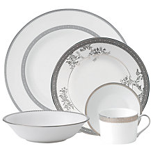 Buy Vera Wang for Wedgwood Lace Platinum Online at johnlewis.com