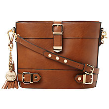 Buy Dune Dyla Cross Body Bag, Tan Online at johnlewis.com