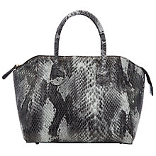 Buy COLLECTION by John Lewis Animal Wings Grab Handbag, Grey Online at johnlewis.com