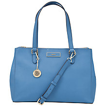 Buy DKNY Saffiano Large Work Leather Shopper Handbag Online at johnlewis.com
