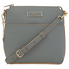Buy DKNY Saffiano Leather Across Body Handbag Online at johnlewis.com