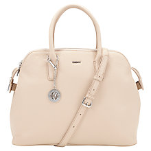 Buy DKNY Tribeca Zip Leather Satchel Bag Online at johnlewis.com