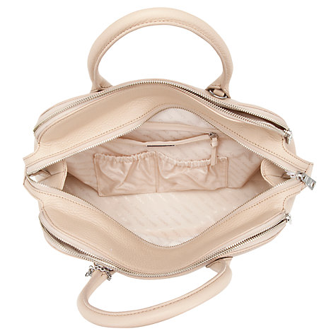 Buy DKNY Tribeca Zip Leather Satchel Online at johnlewis.com