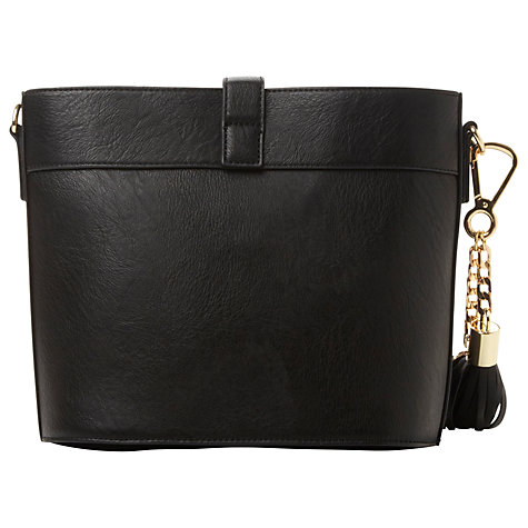 Buy Dune Dyla Cross Body Bag, Black Online at johnlewis.com