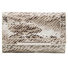 Buy COLLECTION by John Lewis Snake Mini Clutch Handbag Online at johnlewis.com