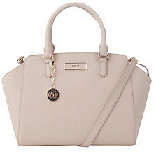Buy DKNY Saffiano Leather Tote Handbag, Sand Online at johnlewis.com