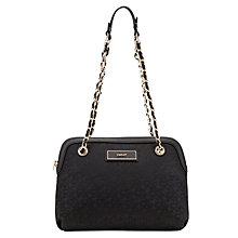 Buy DKNY Heritage Across Body Bag, Black Online at johnlewis.com