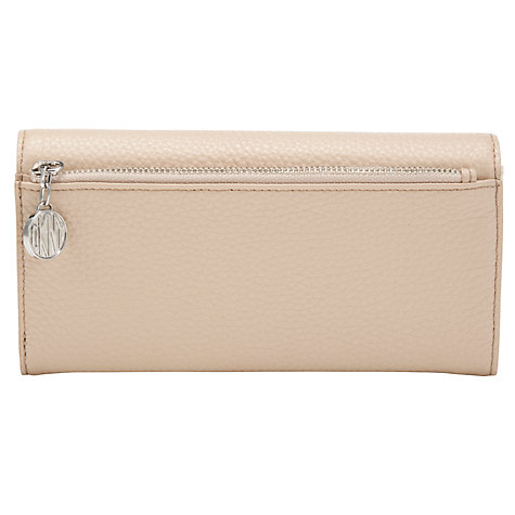 Buy DKNY Tribeca Leather Large Purse, Sand Online at johnlewis.com