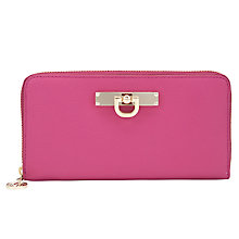 Buy DKNY Town & Country French Grainy Large Zip Around Leather Purse Online at johnlewis.com