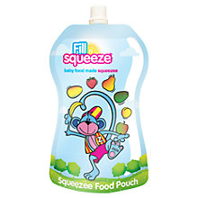 Buy Fill 'n' Squeeze Refill Food and Drink Pouch, Pack of 10 Online at johnlewis.com