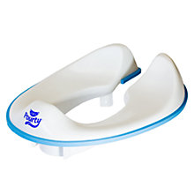 Buy Pourty Flexi-Fit Toilet Trainer, White Online at johnlewis.com