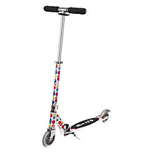 Buy Micro Scooters Floral Micro Sprite Scooter, White Online at johnlewis.com