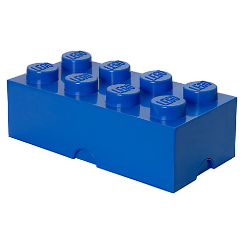 Buy The LEGO Movie 8 Stud Storage Brick Online at johnlewis.com