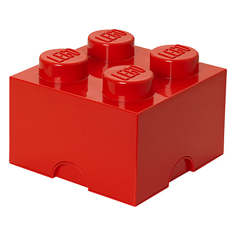 Buy The LEGO Movie 4 Stud Storage Brick Online at johnlewis.com