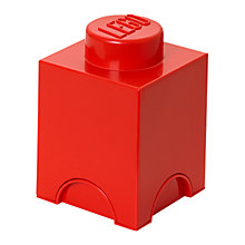 Buy The LEGO Movie 1 Stud Storage Brick Online at johnlewis.com