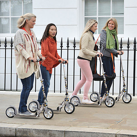 Buy Micro Scooter, Adult, Floral White Online at johnlewis.com
