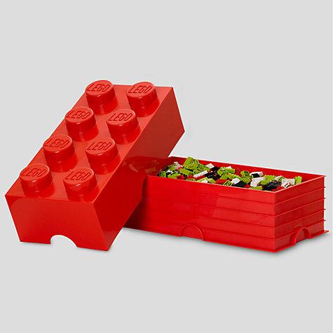 buy the lego movie 40041733 8 stud storage brick john lewis. Black Bedroom Furniture Sets. Home Design Ideas