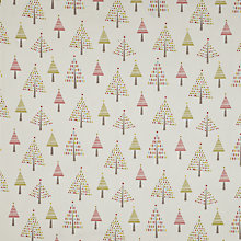 Buy John Lewis Christmas Trees Fabric, Multi Online at johnlewis.com