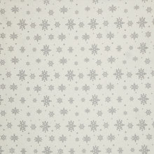 Buy John Lewis Snowflake Fabric Online at johnlewis.com