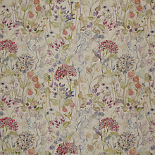 Buy Voyage Hedgerow Linen Furnishing Fabric, Multi Online at johnlewis.com