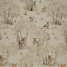 Buy Voyage Sherwood Forest Curtain, Linen Online at johnlewis.com