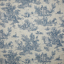 Buy John Lewis Pastorale Fabric, Blue Online at johnlewis.com