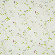 Buy John Lewis Volary Fabric, Grey Online at johnlewis.com