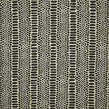Buy John Lewis Serpent Fabric, Black Online at johnlewis.com