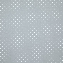 Buy John Lewis Linen Dot Fabric, Grey Online at johnlewis.com