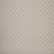 Buy John Lewis Dots PVC Tablecloth Fabric, Pearl Grey Online at johnlewis.com