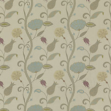 Buy Voyage Babylon Fabric, Duck Egg Online at johnlewis.com